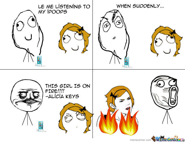 This Girl Is On Fire!!!!