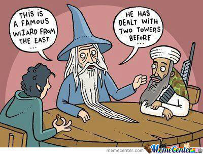This Is A Famous Wizard From The East...