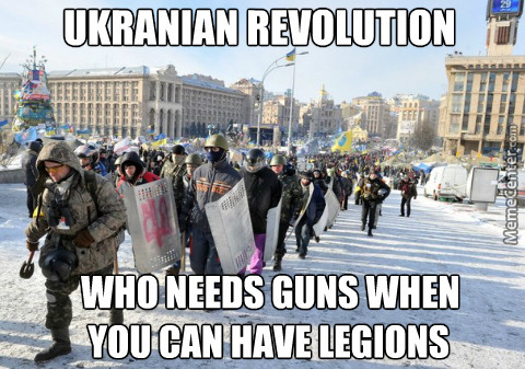 This Is How We Should Do Uprisings, Form Legions And Fight It Out Like A Middle Age Battle