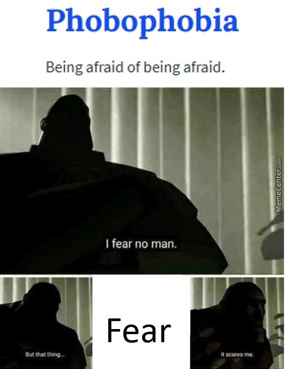 This Is Next Level Fear