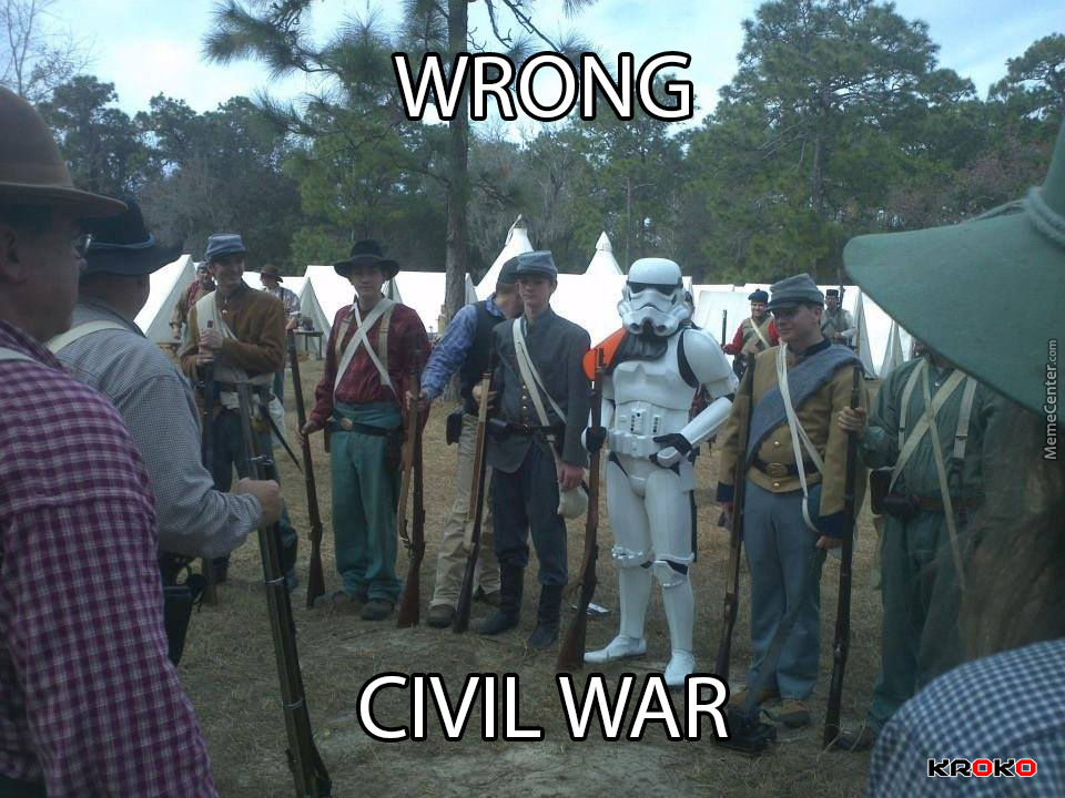 Civil War Funny Meme : This is not the civil war you're looking for by kroko meme center