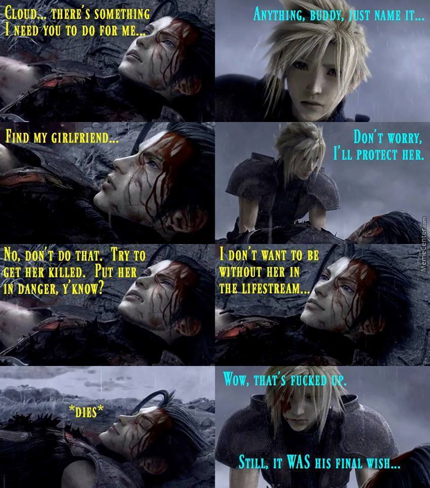 this is the reason for aerith death by yaleyale meme center