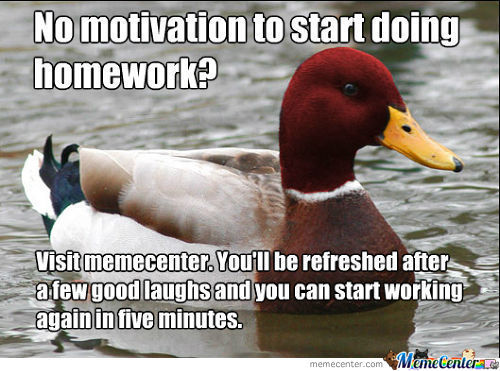 This Is What I Always Think When I Should Study.