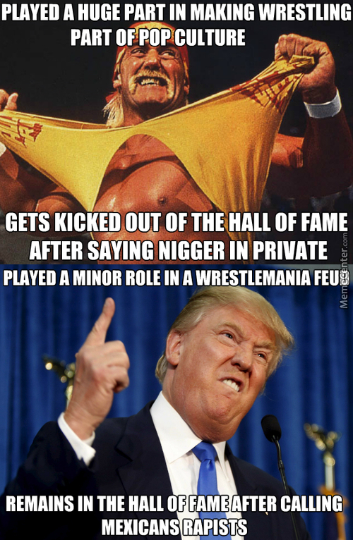 This Isn't Fair To All The Little Hulkamaniacs, Brother!