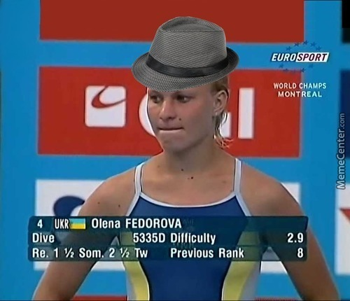 This Lady Is Pure Euphoria!  *tips Fedora*