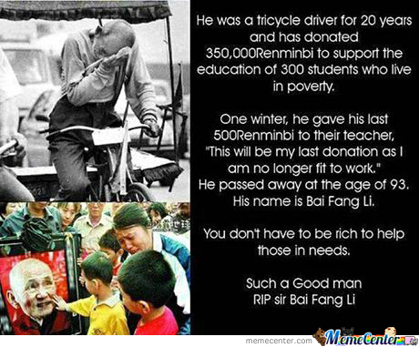 This Man Deserved A Nobel Prize...