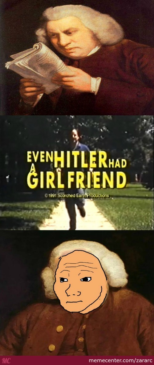 This Movie Was Released In 1991 - Even Hitler Had A Gf