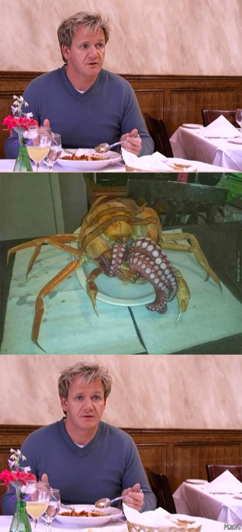 This Octopus Is So Raw, It's Trying To Lurk Under My Apron And Do Yaoi Tentacle Rape On Me!