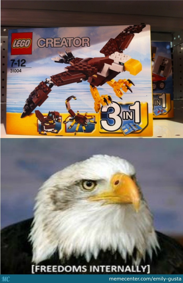 This Rustleld My Legos
