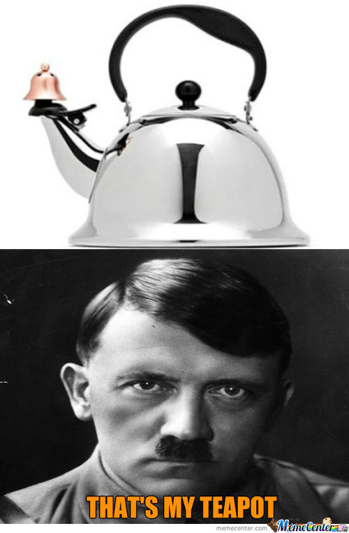This Teapot Looks Like Hitler