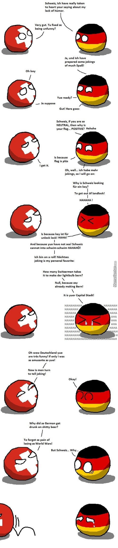 This Triggers The Germans