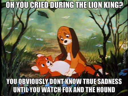 This Was More Saddening Than The Lion King