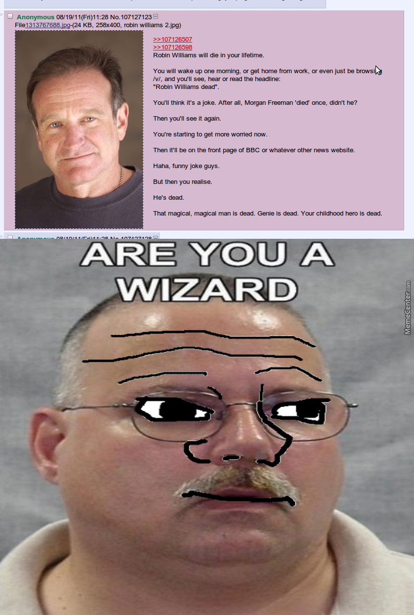 This Was Posted In 2011, Man Being A Wizard Must Suck by ...
