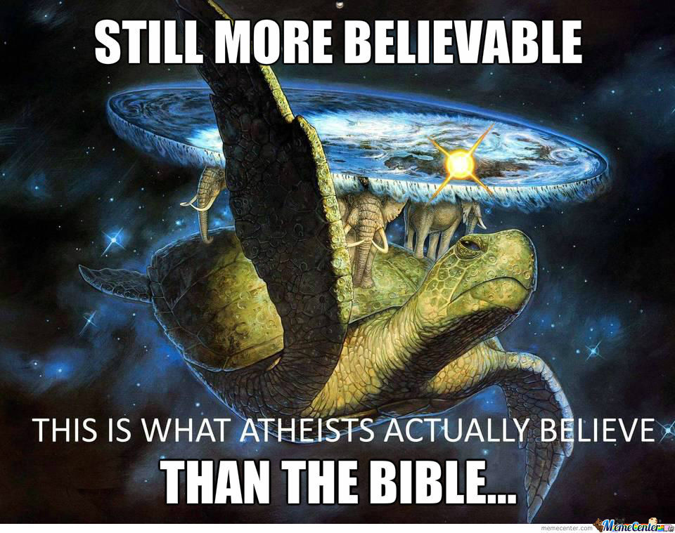 Rmxthis Is What Atheists Actually Believe By Recyclebin Meme Center