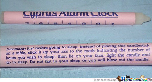 This Would Be An Effective Alarm Clock