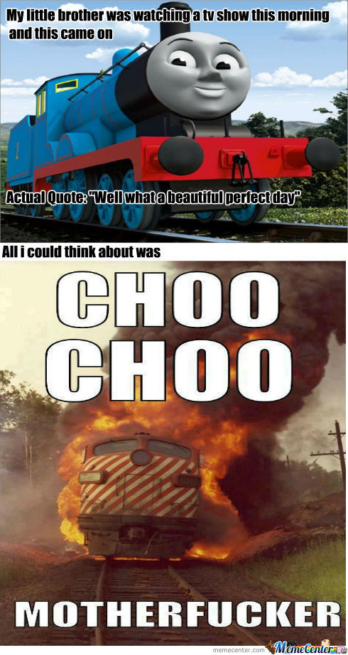 Thomas The Tank Engine By Howieboy Meme Center