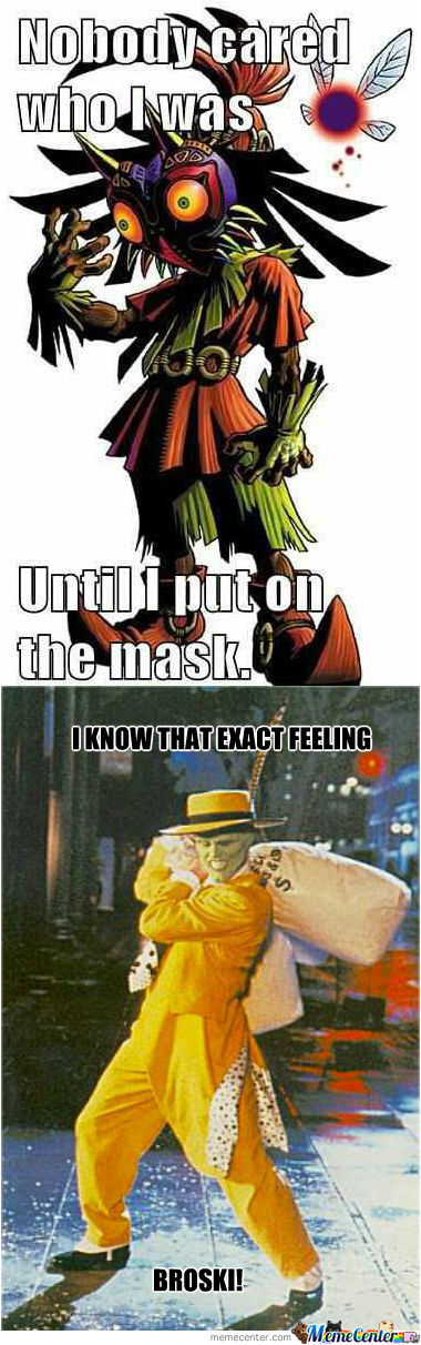 Those Mask Feelings