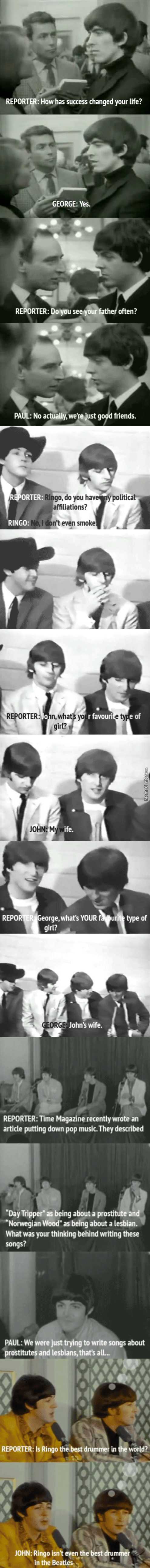 Those Silly Beatle Lads