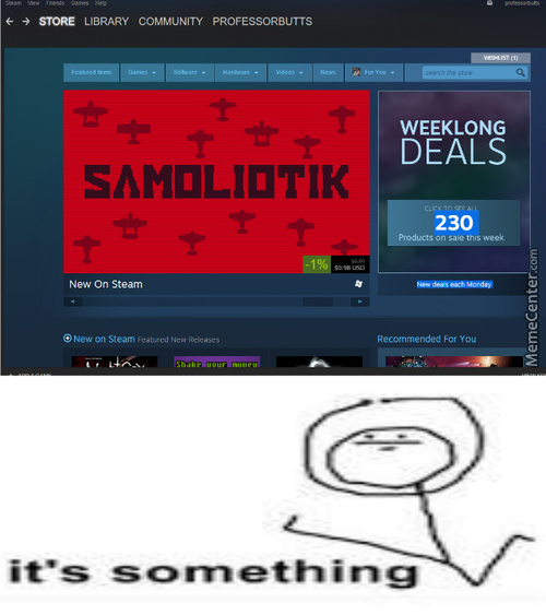 Those Steam Sales, So Tempting
