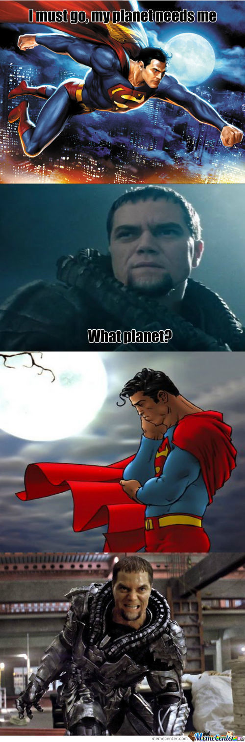 Those Superman Feels.....