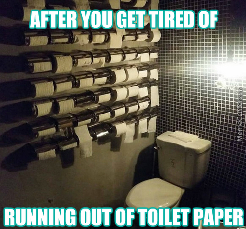 Though... I Then Forgot To Buy Paper At All...