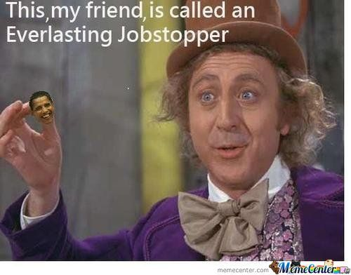 Thought This Was Funny. Jobstopper.