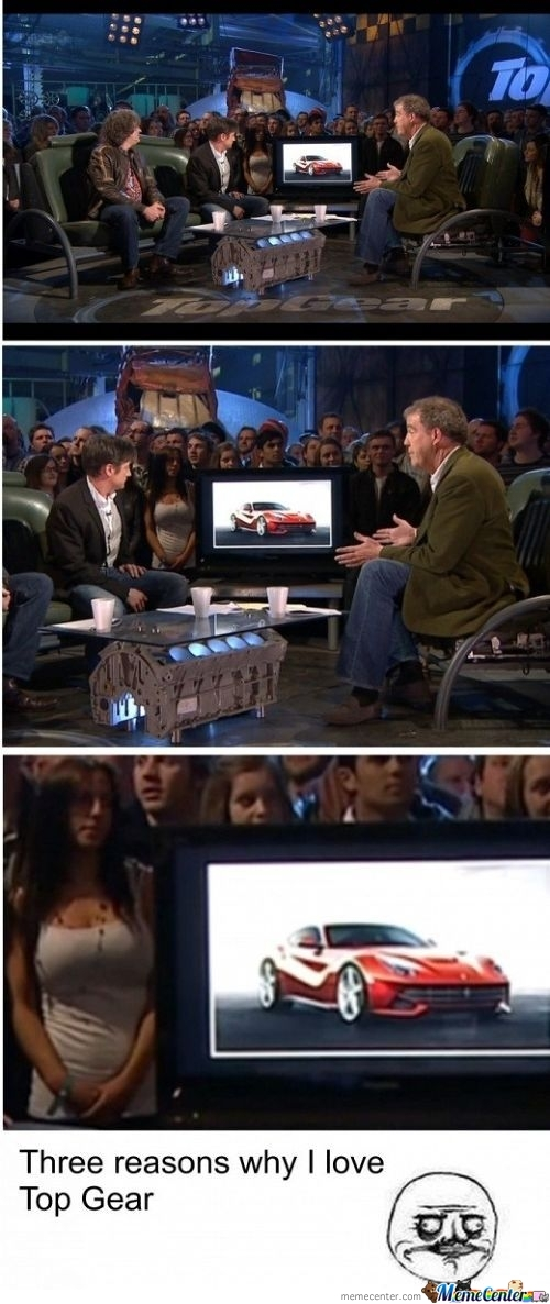 Three Reasons Why I Love Top Gear...