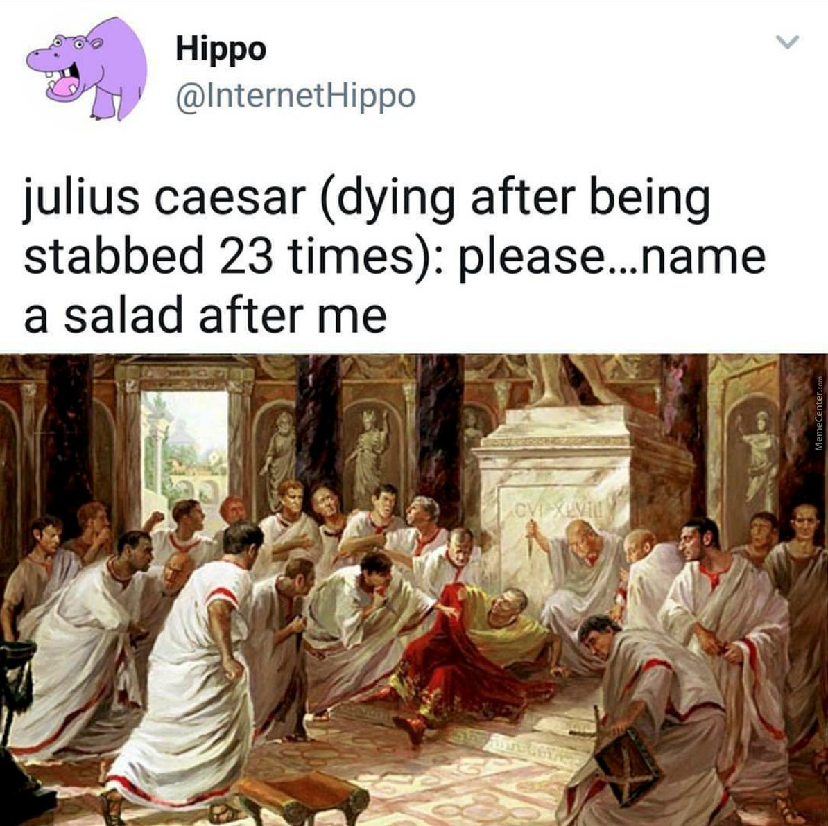 Thus The Caesar Salad Was Born