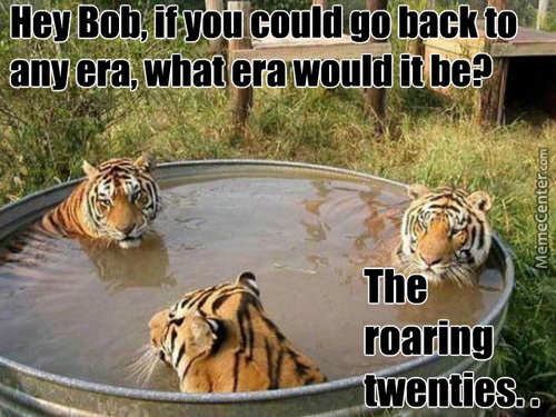 Tiger Hot Tub Talk