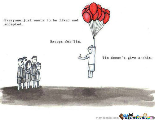 Tim Does'nt Give A Shit