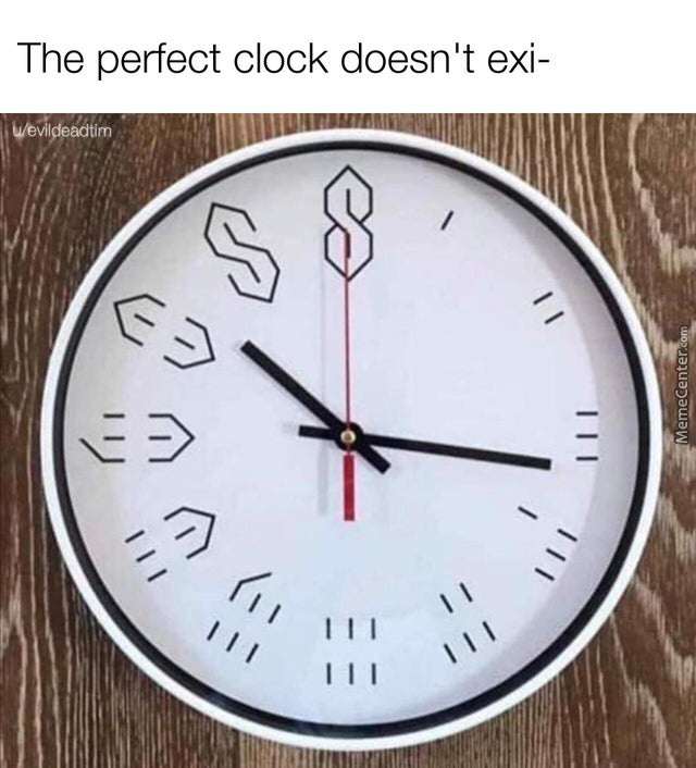 Time Is An Illusion.