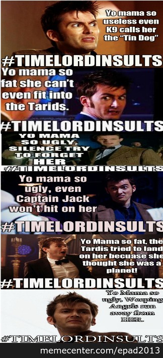 Time Lord Insult Compilation