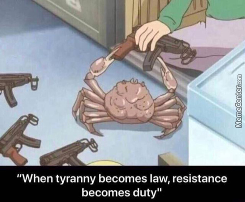 Time To Avenge My Lobster Cousins