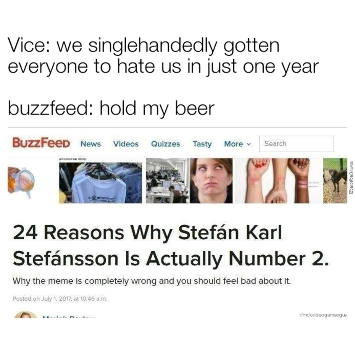 Time To Burn Down Buzzfeed
