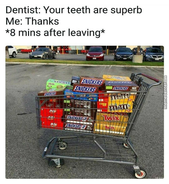 Time To F**k My Teeth Up