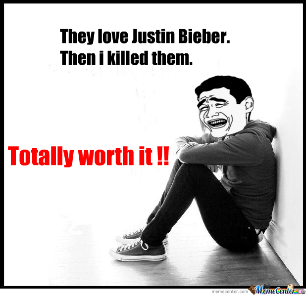 Time To Kill Bieber Fans