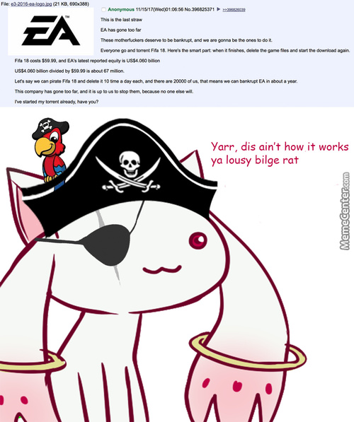 Time To Pirate This 100 Times