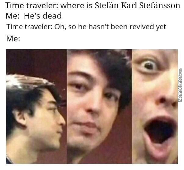 Time Traveller Came To Me Today And Said