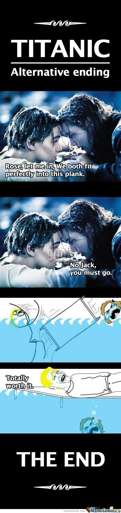 Titanic Alternate Ending