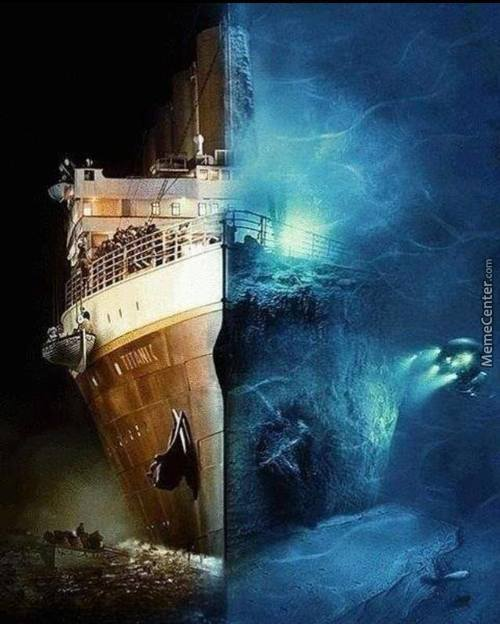 Titanic: Then And Now.