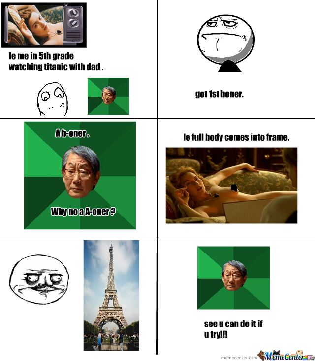 Titanic With Asian Dad