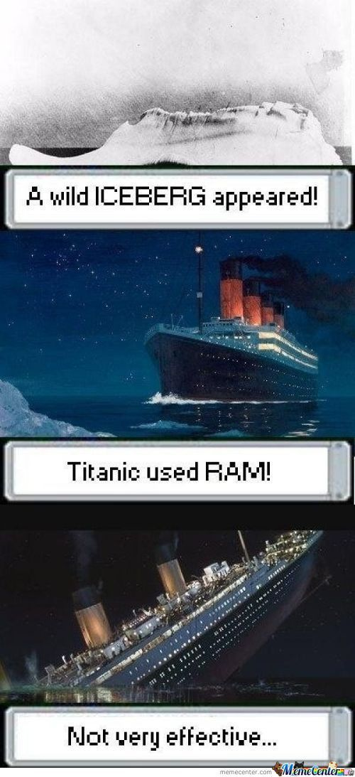 Titanic's First And Last Battle
