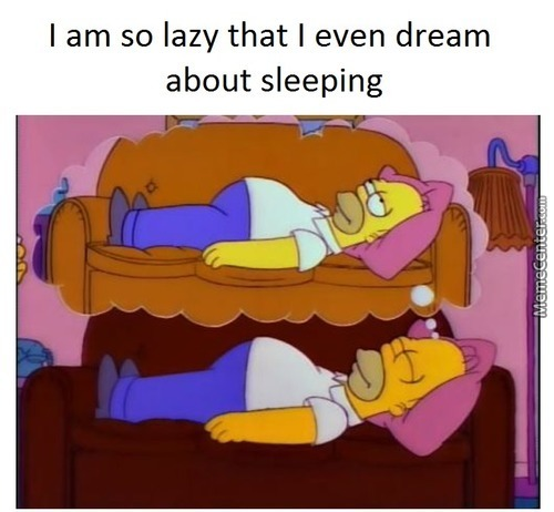 (Title Appropriate For Laziness)