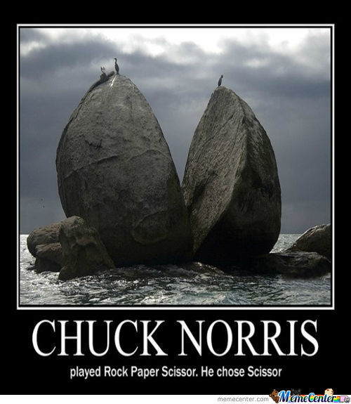 Title Was Removed By Chuck Norris