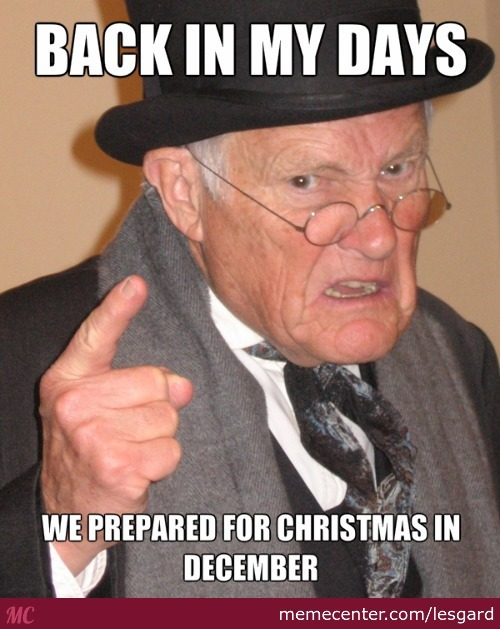 To All Christmas Comercials Out There P.s. Sorry For The Bad English
