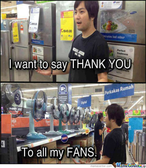 To All My Fans