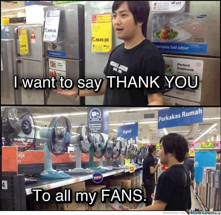 To All My Fans.