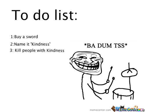To Do List: