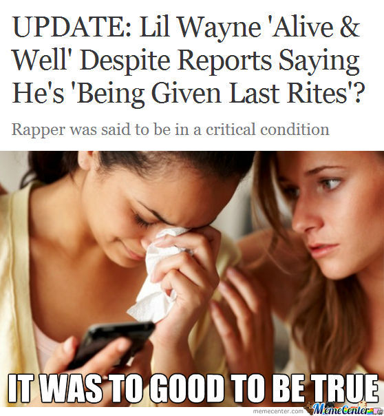 To Good To Be True