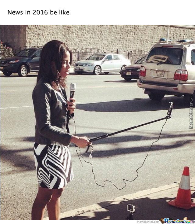 """To Make News You Need To Brandish Your """"stick"""""""